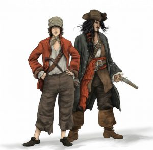 femme-pirate-homme-personnage-18e-siecle
