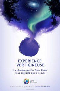 illustration-affiche-planetarium de Montreal-aurore-boreale