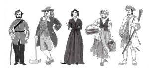 sketch-personnage-quebec-historique-humour
