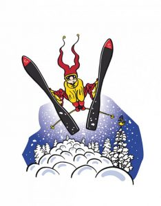 cartoon-bd-ski-personnage-hivers-vector