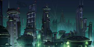 concept-ville-futuriste-nuit-eclairage-animation