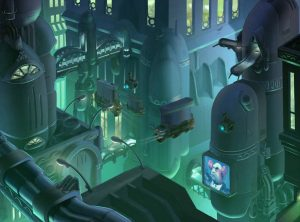 concept-ville-futuriste-nuit-vehicules-animation