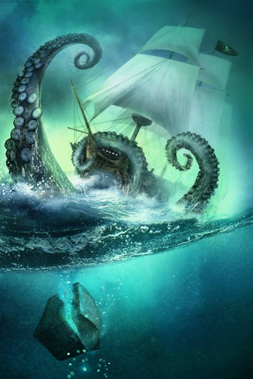 illustration-bateau-ship-pirates-kraken-mer
